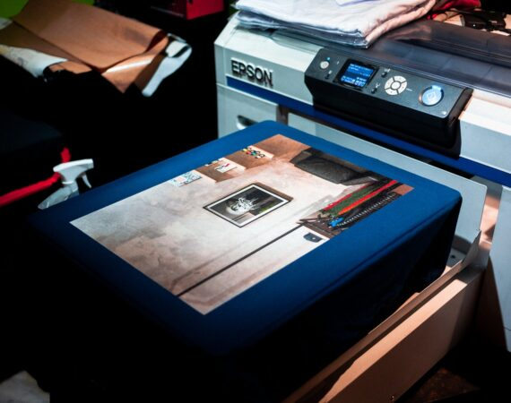 Printer printer ting med blækpatroner